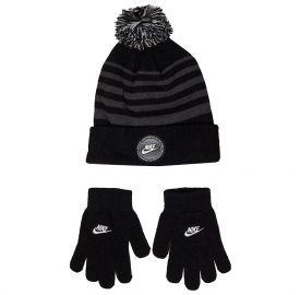 Nike Εφηβικό σετ σκουφάκι & γάντια